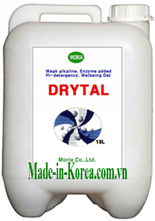 Weak alkaline, enzyme added, hi-detergency, Wellbeing Det DRYTAL