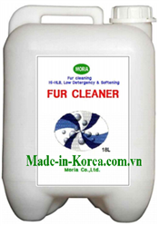 Washes fur on maintaning fat of fur Furclean