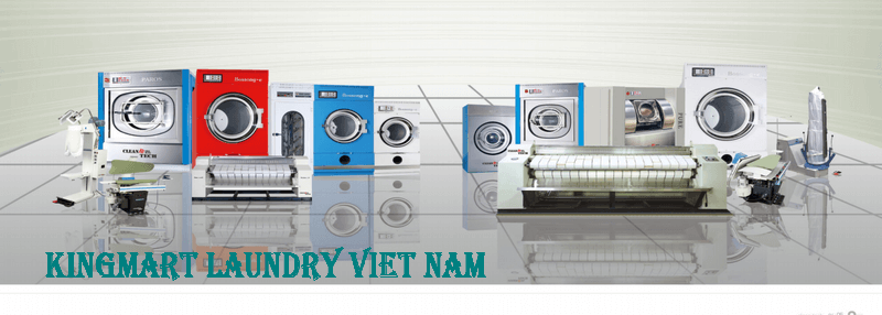 Industrial laundry line - drycleaning steam ironing Korea - Distributor of Hwasung Cleantech