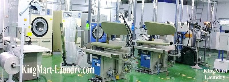 Installation laundry line for hospital, factories, schools, hotels, resorts Resoft, army ..