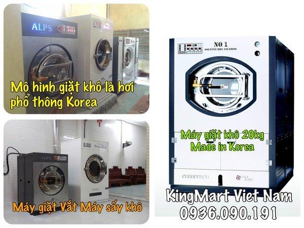 Tư vấn mô hình giặt là tại Việt Nam 1