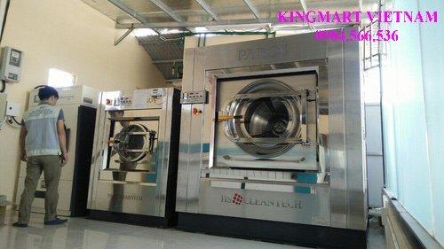 Lắp máy giặt công nghiệp 100kg tại Đà Nẵng