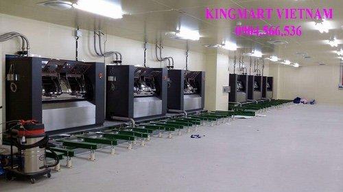 Lăp đặt máy giặt phòng sạch cho nhà máy sản xuất