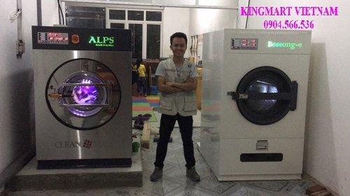 Lắp đặt máy giặt công nghiệp tại sơn la