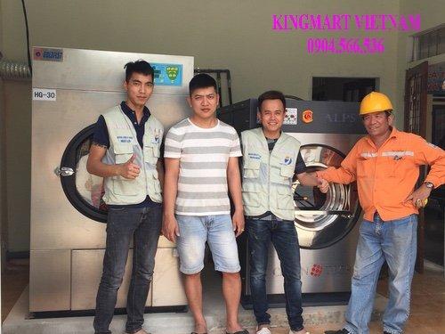 Lắp máy giặt công nghiệp tại Hà Tĩnh
