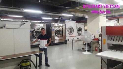 Lắp đặt hệ thống xưởng giặt công nghiệp