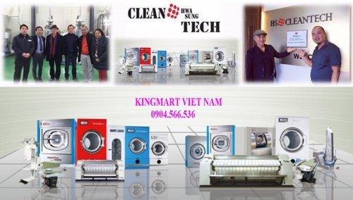 Đại lý phân phối máy giặt công nghiệp uy tín tại Việt nam