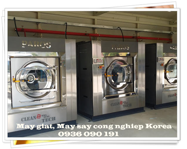 Máy giặt công nghiệp cao cấp Paros Korea