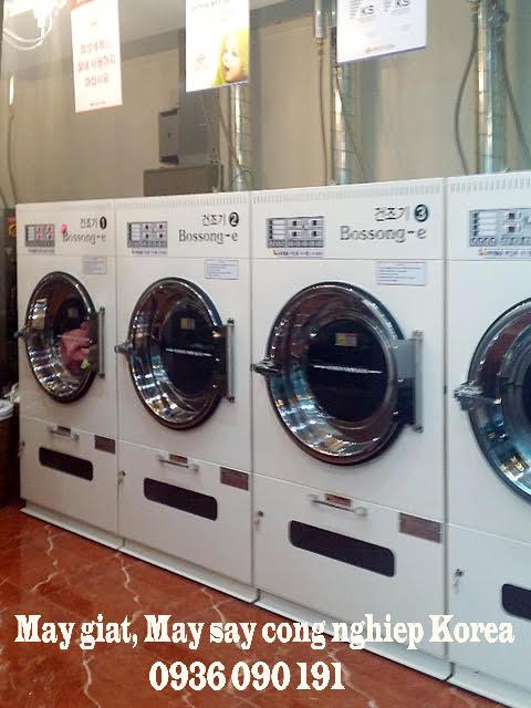 Máy sấy khô quần áo công nghiệp hàn quốc