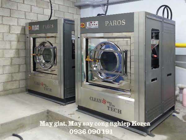 Mô hình giặt là công nghiệp phổ biến