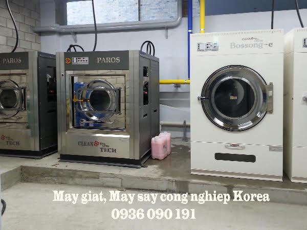 Mô hình giặt là công nghiệp chuẩn kinh tế và hiệu quả nhất