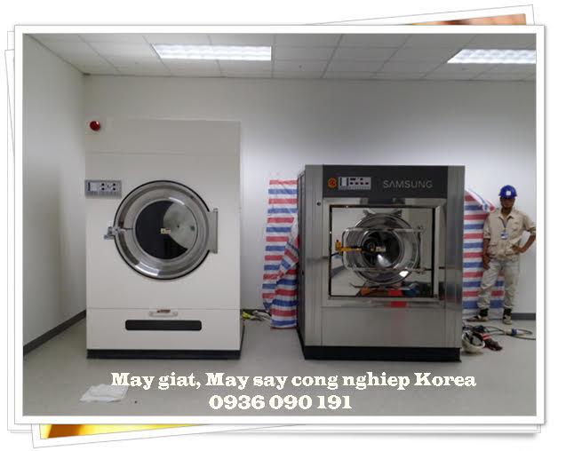 Lắp đặt xưởng giặt công nghiệp korea